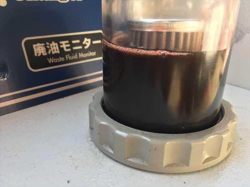フーガ ATF廃油モニター